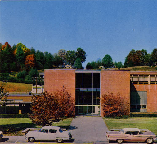 Hunter Library Postcard